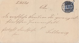 DR Brief EF Minr.48b Geprüft Altona 20.7.92 Gel. Nach Schleswig - Briefe U. Dokumente