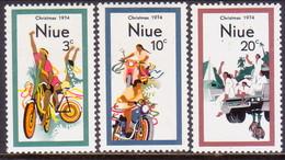 NIUE 1974 SG 190-92 Compl.set MNH Christmas - Niue