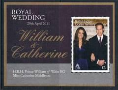 2011 - WILLIAM & CATHERINE - NOZZE REALI / ROYAL WEDDING - EMISSIONE CONGIUNTA / JOINT ISSUE. MNH - Emissioni Congiunte