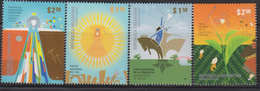 O) 2010 ARGENTINA, NATIONAL HOLIDAYS- CELEBRATIONS-CULTURE,FOREIGN COMMUNITIES- SUN PARTY- OF THE TRADITION NATIONAL TE - Unused Stamps
