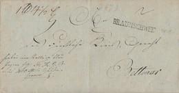 Brief L1 Braunschweig Gel. Nach Bettmar - Braunschweig