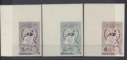 SYRIE - 1958 - Poste Aérienne Non Dentelés -  N° 147 à 149 - Neufs - X X - MNH - TB - - Syrië