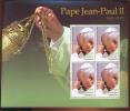 MINT NEVER HINGED MINI SHEET OF POPE JOHN PAUL II   # 422  ( TOGOLAISE  2007 - Christendom
