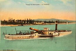 """CPA - Le Remorqueur """" La FRANCE """" - Daté 1934 - En TBE - Remorqueurs"""