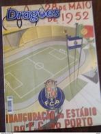 MAGAZINE DRAGÕES (FC PORTO) AVRIL 2002 INAUGURATION DU STADE DRAGÃO - Livres, BD, Revues