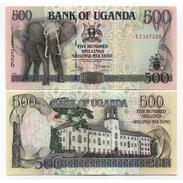 Billet Banque   OUGANDA 500 SHILLINGS - Ouganda