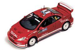 Peugeot 307 WRC - M. Gronholm/T. Rautiainen - 1st Rally Finland 2004 #5 - Ixo - Ixo