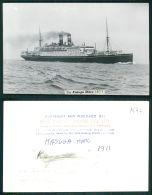BARCOS SHIP BATEAU PAQUEBOT STEAMER [BARCOS #01547] - KASUGA MARU ? - Steamers