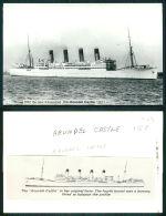 BARCOS SHIP BATEAU PAQUEBOT STEAMER [BARCOS #01588] - ARUNDEL CASTLE - Steamers
