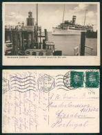 BARCOS SHIP BATEAU PAQUEBOT STEAMER [BARCOS #01594] - NORDSEEBAD CUXHAVEN TS COBRA PASSIERT DIE ALTE LIEBE - Steamers