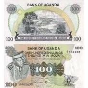 Billet Banque   OUGANDA 100 SHILLINGS - Ouganda