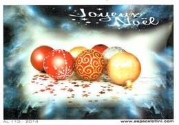 Carte Postale De Noël 2014 Des Editions Lollini - Autres