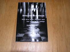 HUIT MOIS DE MA JEUNESSE DANS LES CAVES DE LA GESTAPO Menasza Rozenbaum Biographie Guerre 40 45 Bruxelles Résistance - Guerre 1939-45