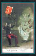 Feuillet Joyeux Noël 1914 - Documents De La Poste