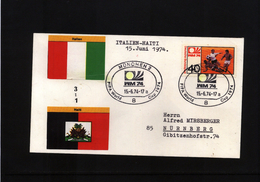 Deutschland / Germany 1974 World Football Champioship Germany  Football Game (national Teams Are Written On Cover) - World Cup