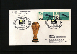 Deutschland / Germany 1974 World Football Champioship Germany  Football Game (national Teams Are Written On Cover) - Coppa Del Mondo