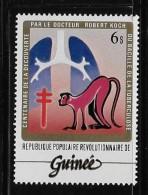 GUINEA 1983, MNH  #852     Dr Robert Koch  TB Bacillus - Guinée (1958-...)