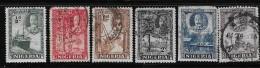 NIGERIA 1935, USED # 38-42 & 44, Incomplete Serie   Used - Nigeria (1961-...)