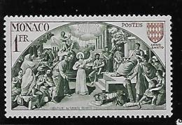 MONACO 1951  MNH #264 JUGEMENT Of ST. DEVOTE  MH - Monaco