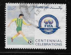 PAKISTAN  2004, USED #1035a FIFA CENTENARY: PLAYER - Pakistan
