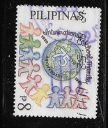 PHILIPPINES  1995  USED # 2351,  GLOBE , Cut Out Figures            USED - Philippines