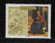 VATICAN 2005 USED # 1312    THE ANNONCIATION By RAPHAEL ,  USED - Vatican
