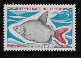 CHAD , 1969  MNH  #219  FISH       Mnh - Tchad (1960-...)