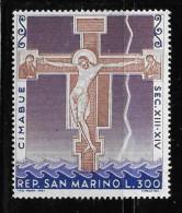 SAN MARINO, 1967  MNH # 676,  CRUSIFIX Of SANTA CROCE By CIMABUE  Mnh - Saint-Marin