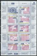 Venezuela 2005 The 65th Anniversary Of The Venezuelan Central Bank, BCV.M/S.MNH - Venezuela