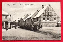 Lettonie. Der Krieg Im Osten. Mitau (Jelgava) Schloss Strasse. Feldpoststation Nr 214. 1916 - Lettonie