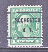 U.S. 405   (o)  Single Line Wml. Perf 12  1912-14 Issue - United States