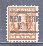 U.S. 427   (o)  Single Line Wmk. Perf 10  1914 Issue - United States