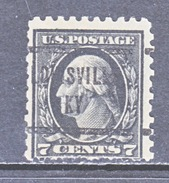 U.S. 430   (o)  Single Line Wmk. Perf 10  1914 Issue - United States