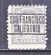 U.S. 437   (o)  Single Line Wmk. Perf 10  1914 Issue - United States