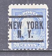 U.S. 476   (o)  FLAT PRESS  NO Wmk. Perf 10  1916-17 Issue - United States