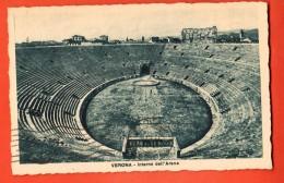 IBI-03  Verona Interno Dell'Arena.  Timbre Venezia Ferrovia 1931 Per La Svizzera - Verona