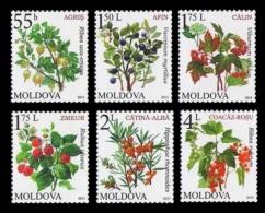 Moldova 2013 Mih. 823/28 Definitive Issue. Flora. Berries MNH ** - Moldova