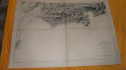 CARTE ANCIENNE SERVICE HYDROGRAPHIQUE DE LA MARINE PARIS 1904. EDITION DE 1934. / GOLFE DE FREJUS PORT DE ST RAPHAEL RAD - Cartes Marines