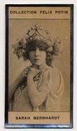 Collection Felix Potin - 1898 - REAL PHOTO - Sarah-Bernhardt, Henriette-Marie-Sarah Bernardt, Actrice Française - Félix Potin