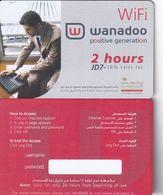 JORDAN - Royal Jordanian, Wanadoo Internet Prepaid Card JD 7(for Use In Queen Alia Airport On), Tirage 1000, Sample