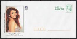 France - 2013 - Prêt A Poster Neuf - Delphine Wespiser - Miss France 2012 Et Ambassadrice De L'Alsace - Entiers Postaux