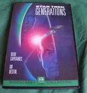 Dvd Zone 2 Star Trek : Générations (1994) Star Trek: Generations Vf+Vostfr - Sciences-Fictions Et Fantaisie