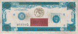 Romania - Bucuresti - 50 Dollars - Casino Palace Bucharest - Calea Victoriei - Casino Banknote - Casino Bill-Advertising - Romania
