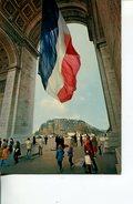 (M+S 333) France - Paris Arc De Triomphe & Flag - Drapeau - Monuments