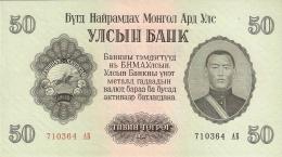 MONGOLIE   50 Tugrik   1955   P. 33   UNC - Mongolie