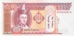 MONGOLIE   20  Tugrik   2005   P. 63c   UNC - Mongolie