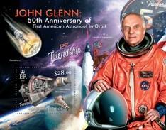 SOLOMON ISLANDS 2013 SHEET JOHN GLENN SPACE ESPACE ASTRONAUTS ASTRONAUTES COSMONAUTS ESPACIO Slm13119b - Solomon Islands (1978-...)