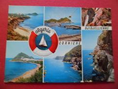 Jijel  Carte Postale Dos Divisé SNED N°  4273     Algérie   Corniche DJidjelienne Multi Vues écrite TB - Algérie