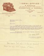 Suisse // Schweiz // Switzerland // Vieux Papiers // Document Pour Fourniture De Bureau à Lausanne - Suisse