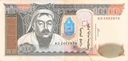 MONGOLIE   10,000 Tugrik   2002   P. 69a - Mongolie